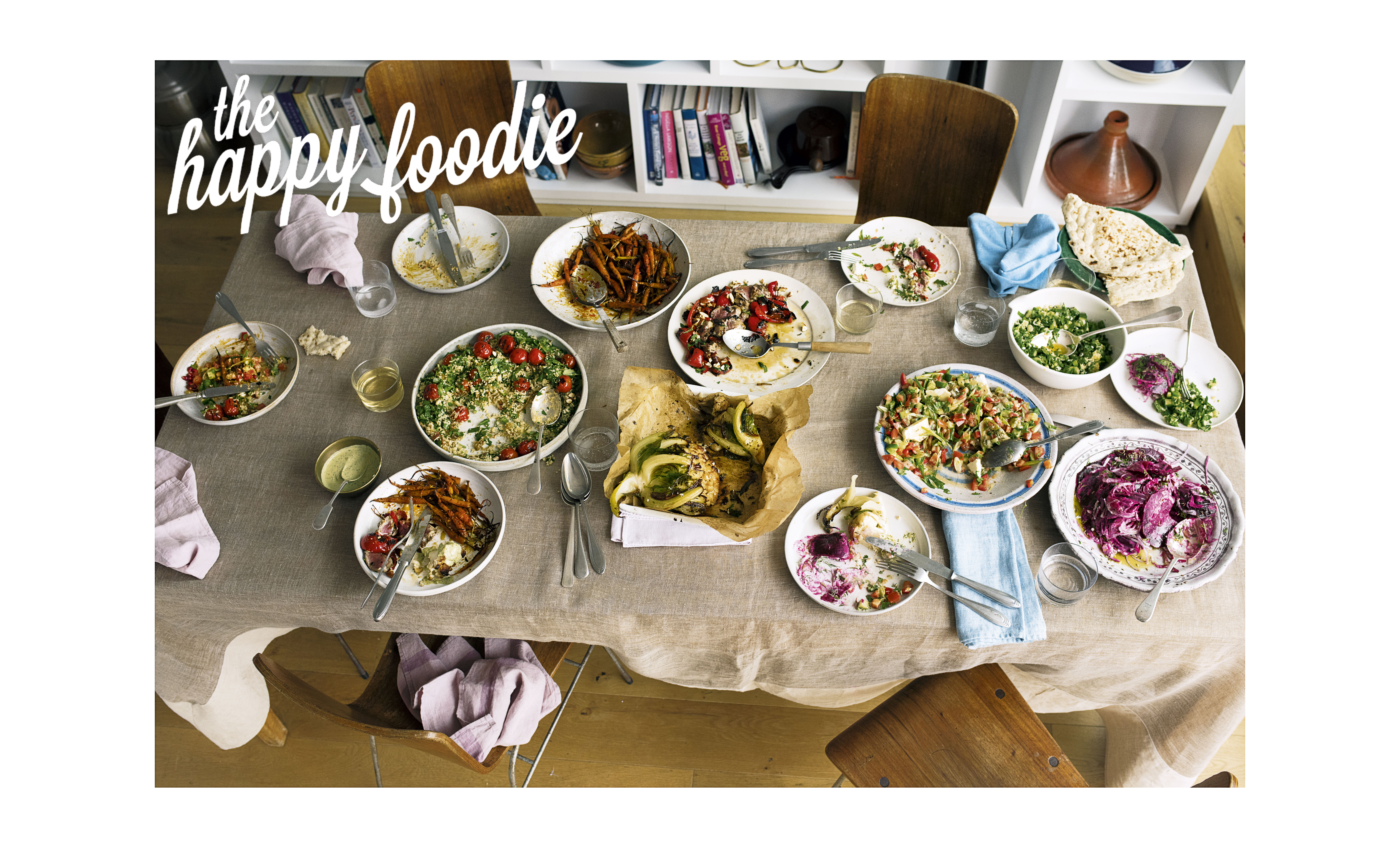[Sign up] The Happy Foodie newsletter Feb 20 Ottolenghi Flavour